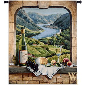 Rhine Wine Moment Tapestry