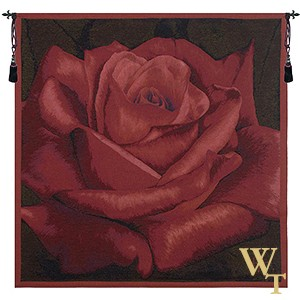 Rose Rouge Tapestry