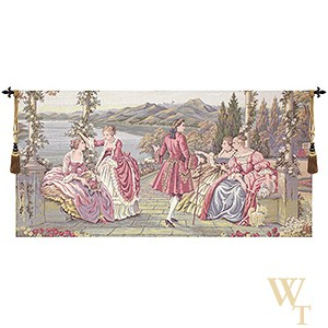 Royalty at Lake Como Tapestry
