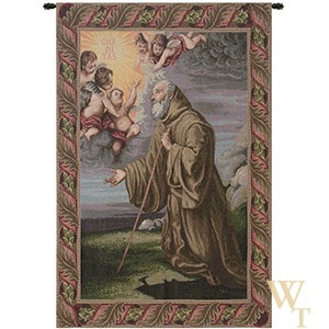Saint Frances from Paola Tapestry