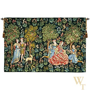 Scenes Gallantes Tapestry