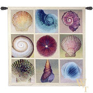 Shell Collection Tapestry