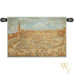 Siena Town Square Tapestry