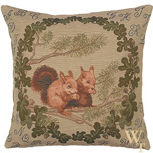 Squirrels Cushion Cover