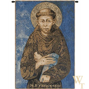 St Francis from Assisi Tapestry