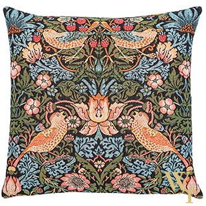 Strawberry Thief Birds Cushion Cover
