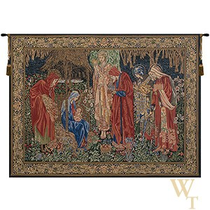 The Adoration of the Magi II - With Border Tapestry