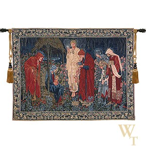 The Adoration of the Magi - With Border Tapestry