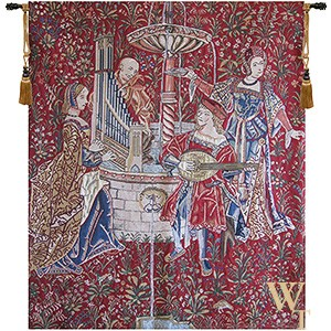 The Concert - Red Tapestry