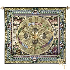 The Copernican System Tapestry