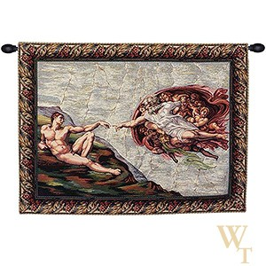 The Creation I - Michelangelo Tapestry