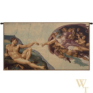 The Creation II - Michelangelo Tapestry