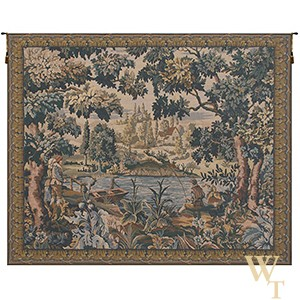 The Flemish Village Tapestry