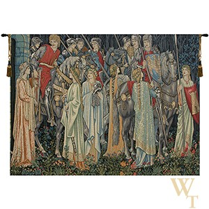The Holy Grail II - No Border Tapestry
