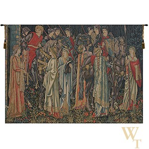 The Holy Grail - No Border Tapestry