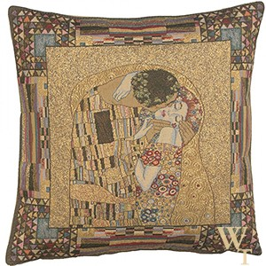The Kiss I - Klimt Cushion Cover