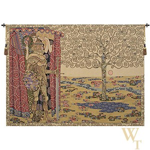 The Knight with the Tree of Life Tapestry