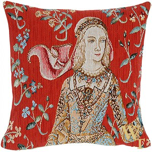The Lady Cushion Cover