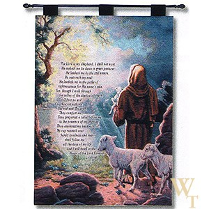 The Lord is My Shepherd Tapestry