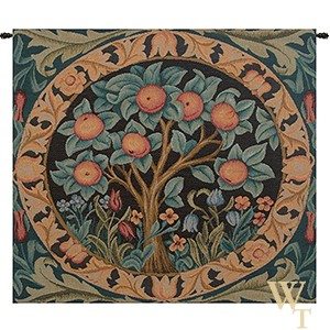 The Orange Tree - No Border Tapestry