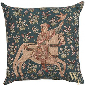 The Rider I Cushion Cover