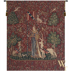 Touch (Lady and Unicorn) Tapestry