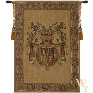 Tours Crest Tapestry