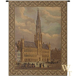Town Hall Brussels Tapestry