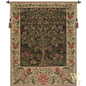 Tree of Life Brown II Tapestry