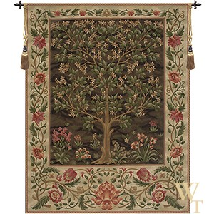 Tree of Life Brown III Tapestry