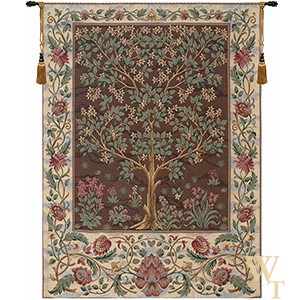 Tree of Life Brown IV Tapestry