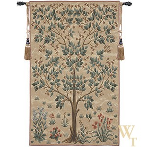 Tree of Life Cream Tapestry