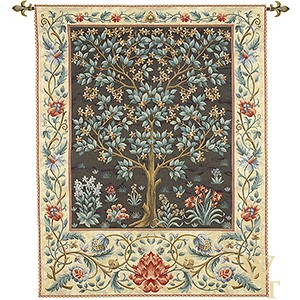 Tree of Life Dark Tapestry