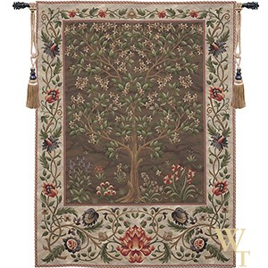 Tree of Life Earth Brown Tapestry