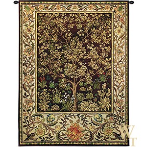Tree Of Life Umber Tapestry