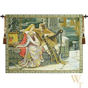 Tristan and Isolde - Leighton Tapestry