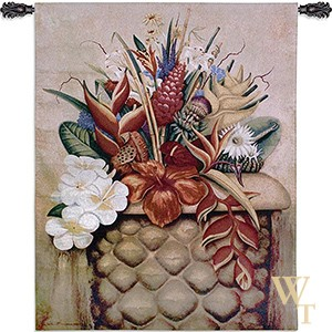 Tropical Flora Tapestry
