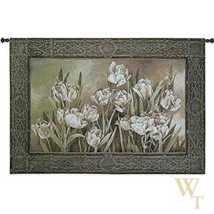 Tulips in the Window Tapestry