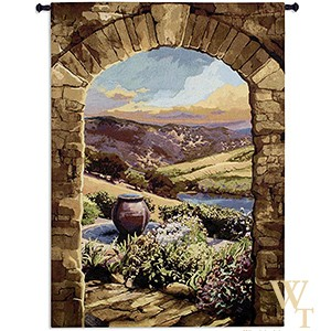 Tuscan Afternoon Tapestry