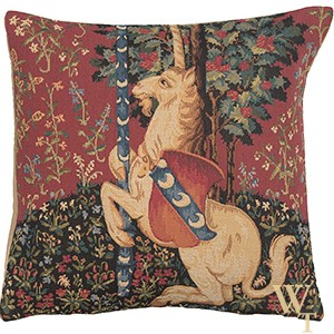 Unicorn Belgian Cushion Cover