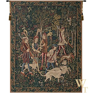 Unicorn Hunt Tapestry