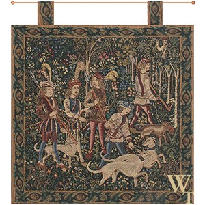 Unicorn Hunt - With Loops Tapestry