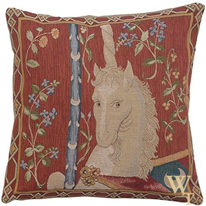 Unicorns Tapestry Cushion Cover