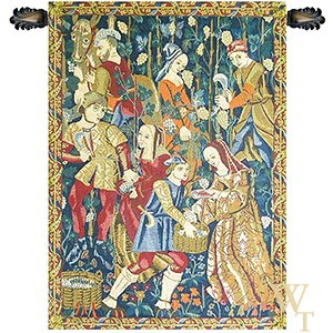 Vendanges VI - Harvesting of Grapes Tapestry