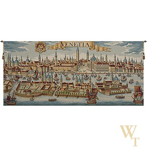 Venice Ancient Map Tapestry
