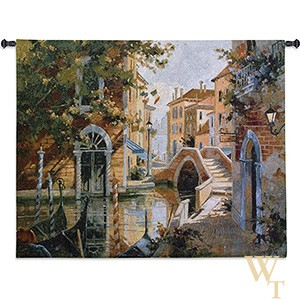 Venice Canal II Tapestry