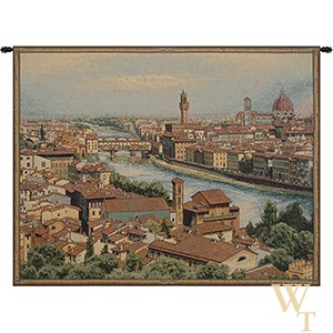 View of Florence and the Arno Tapestry