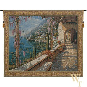 Villa in Capri Tapestry
