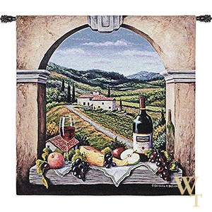 Vineyard Road Tapestry