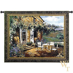Vineyard Villa Tapestry